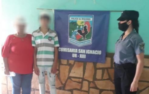 San Ignacio: ya está con su familia el adolescente que era intensamente buscado