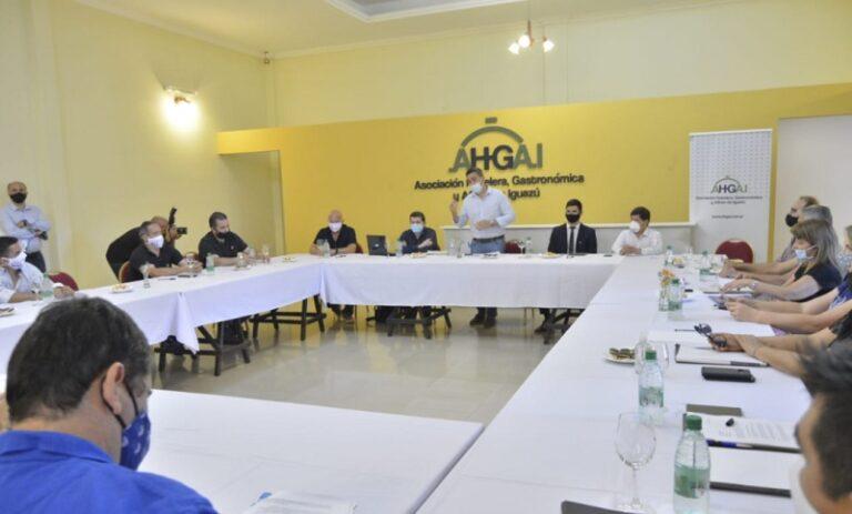 La Provincia continúa trabajando para otorgar soluciones al sector turístico