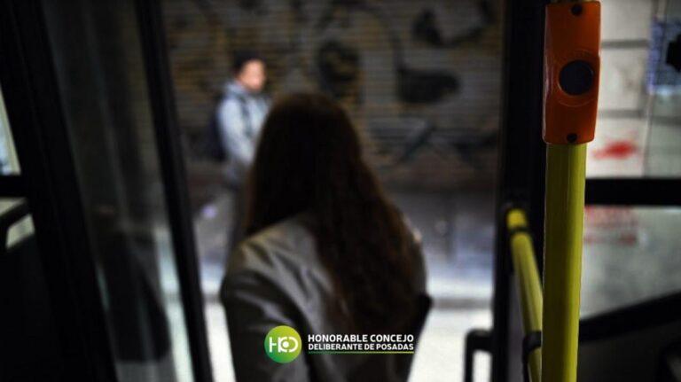"""Más seguridad: en Posadas ya se pueden solicitar las """"Paradas Intermedias Nocturnas"""""""