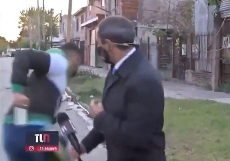 Buenos Aires: periodista hacía móvil en vivo y le robaron el celular