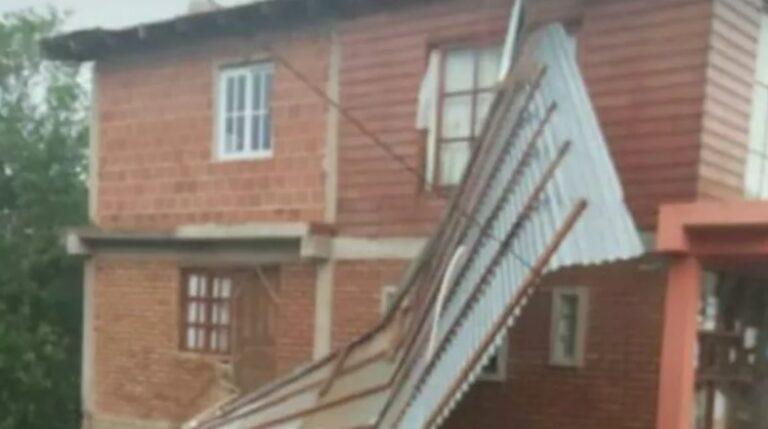 Fuerte temporal provocó severos daños en Montecarlo y Apóstoles