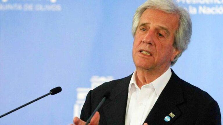 Murió el expresidente de Uruguay, Tabaré Vázquez