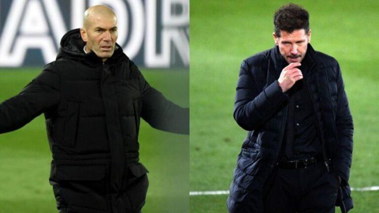 Clásico de Madrid: Zidane amargó a Simeone y le cortó el invicto