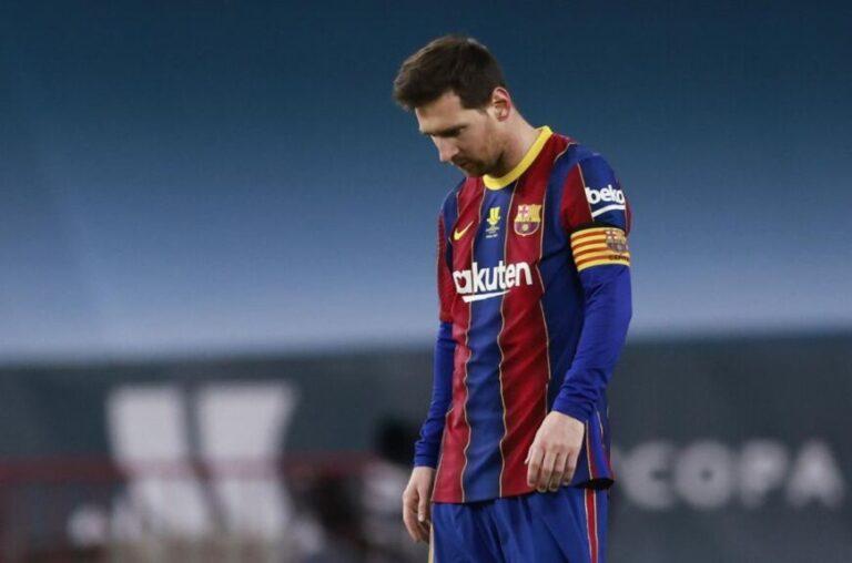 ¡Cachetazo para Messi!: Barcelona perdió la final de la Supercopa de España y el argentino fue expulsado