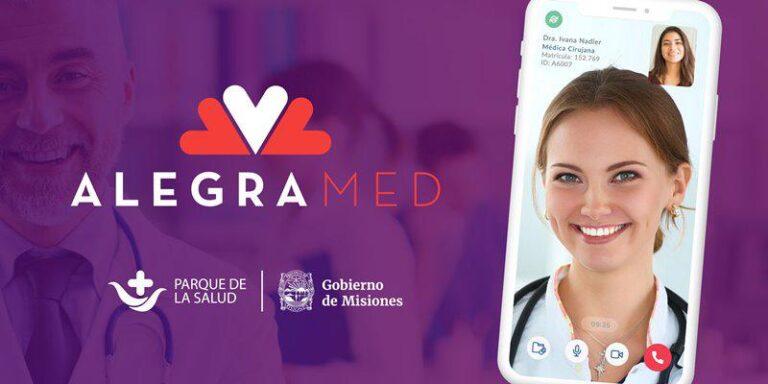 Para consultas sobre Covid-19, continúa disponible la app Alegra Med Misiones