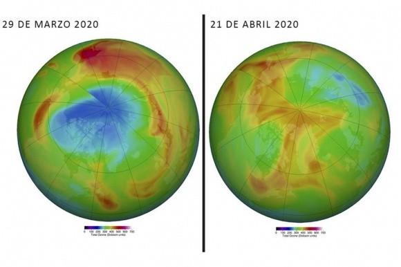 Ártico: se cerró el agujero de la capa de ozono en la zona