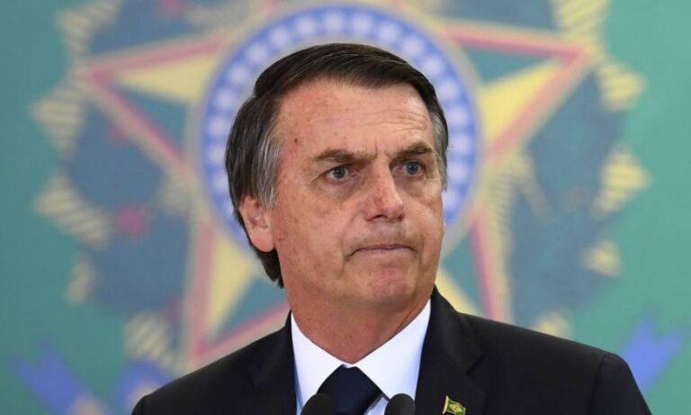 Bolsonaro volvió a criticar a Alberto Fernández por la situación económica y sanitaria