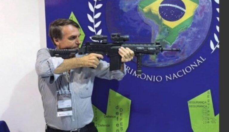 """Bolsonaro liberará la compra de armas a civiles: """"No le temo a un pueblo armado"""""""