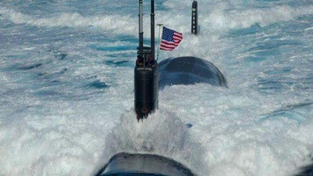 Preocupación del Gobierno por la operación de un submarino de EEUU en el Atlántico Sur