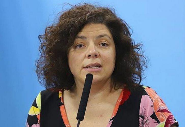 Carla Vizzotti dio positivo de coronavirus