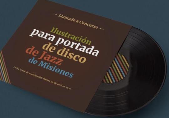 El concurso para ilustrar la portada del disco de vinilo de jazz misionero ya tiene su jurado