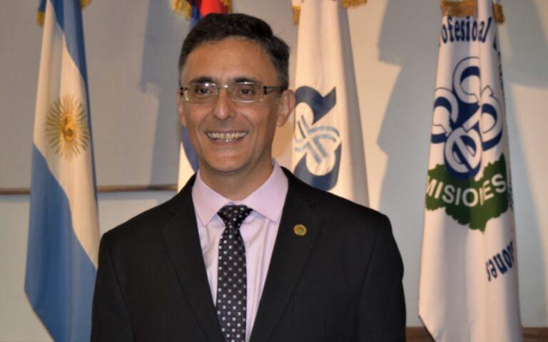 Mariano Amable asumió como presidente del Consejo Profesional de Ciencias Económicas de Misiones