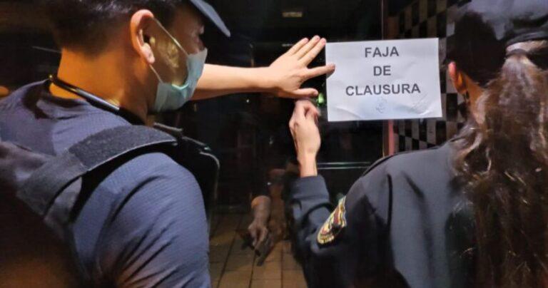 En la provincia: clausuraron tres bares, notificaron a otros tres y desarticularon una fiesta