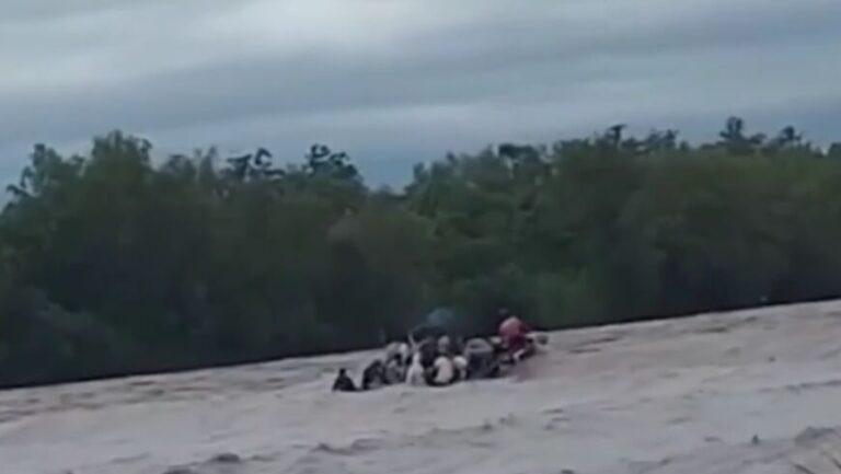 Tragedia en Salta: se pinchó un gomón y hay dos muertos y cuatro desaparecidos