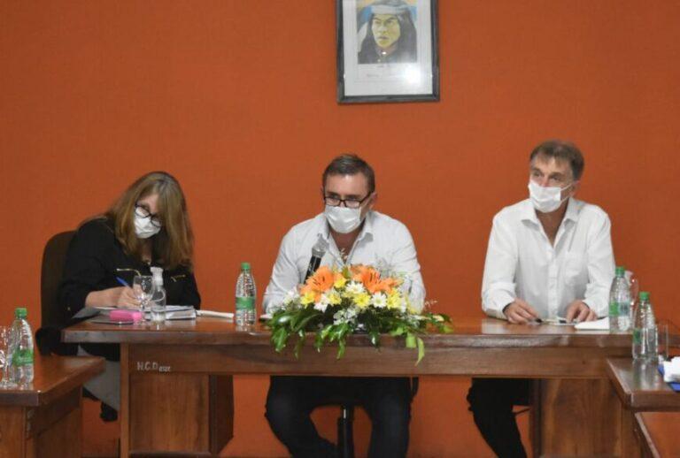 Sartori inauguró el período de sesiones en Campo Grande: destacó las obras y los preparativos para el 75 aniversario