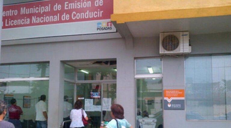 Posadas: el Centro de Emisión de Licencias está fuera de servicio por problemas técnicos