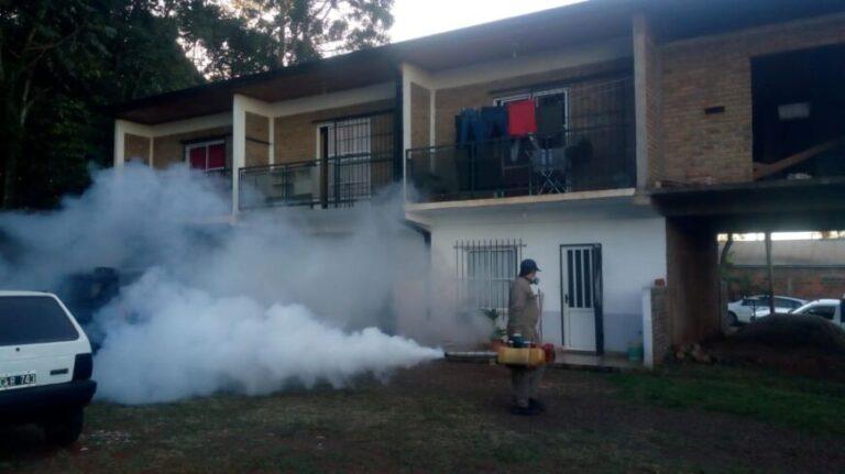 Lucha contra el dengue en Oberá: agentes refuerzan los operativos de prevención