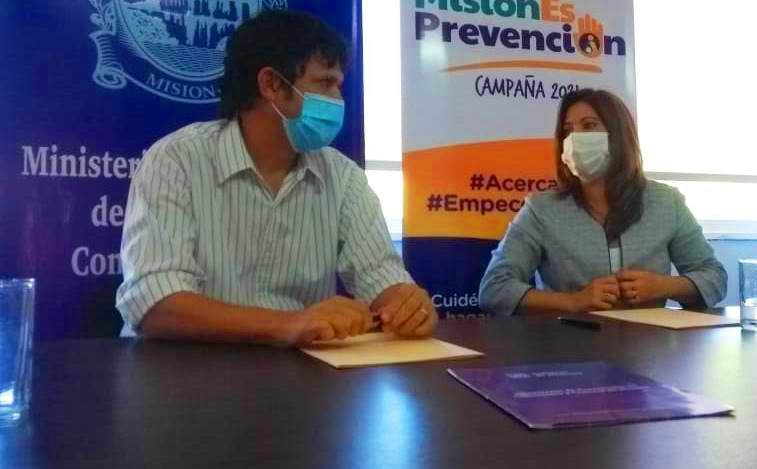 Firmaron convenio para el acompañamiento a personas con adicciones que buscan su reinserción sociolaboral