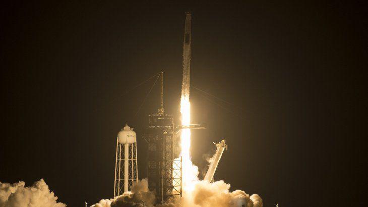 Despegó la tercera misión de SpaceX a la Estación Espacial Internacional