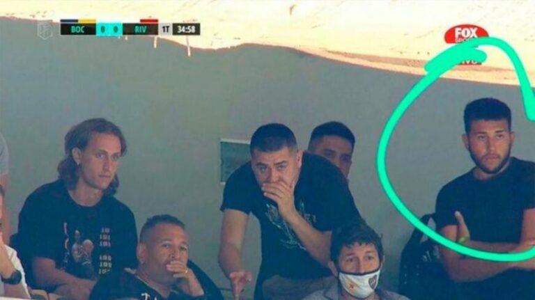 Riquelme fue citado a indagatoria porque su hijo fue a ver el partido de Boca contra River