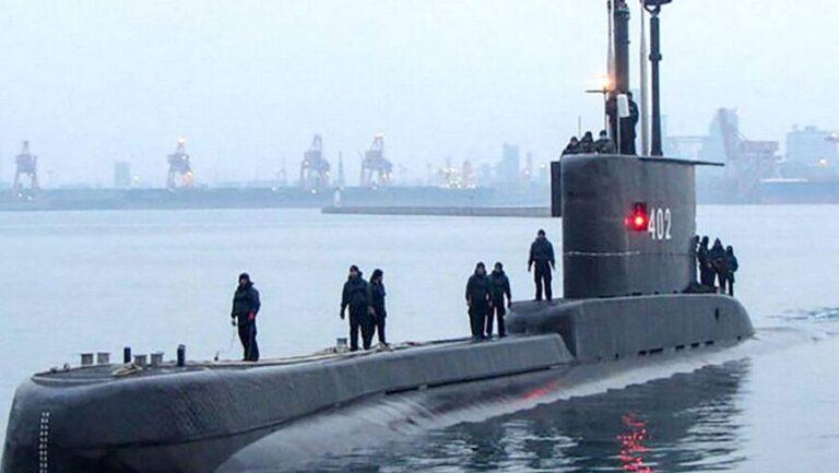 Indonesia: se perdió un submarino con 53 militares a bordo