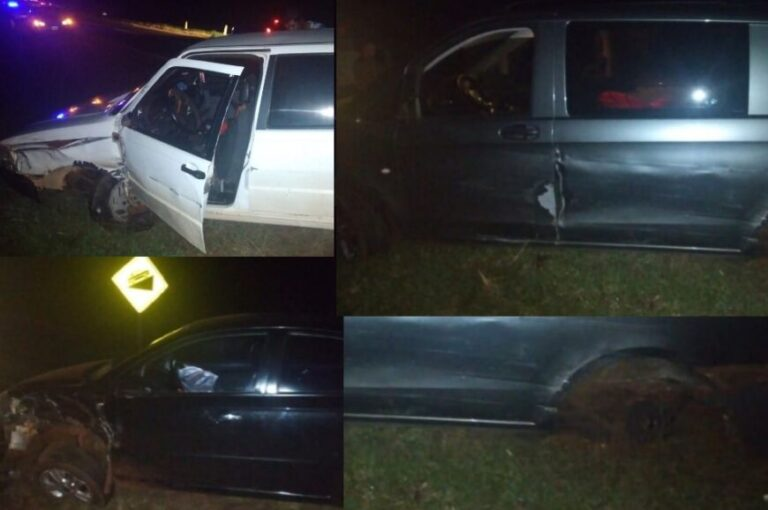 Hipólito Yrigoyen: conducía ebrio, provocó un choque múltiple y terminó tras las rejas