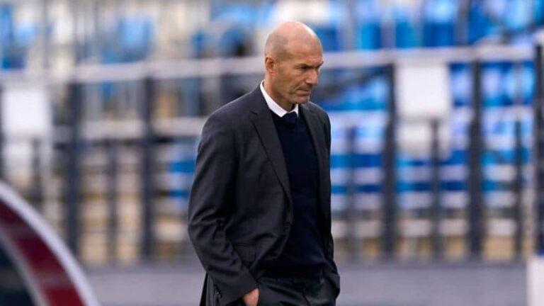 Zidane dejó de ser el técnico del Real Madrid