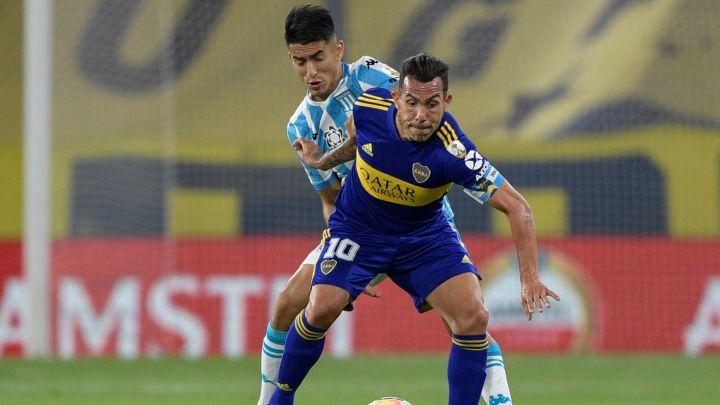 Boca y Racing se enfrentan desde las 15 por un lugar en la final de la Copa de la Liga