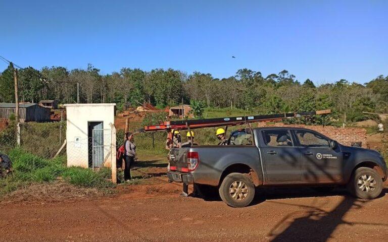 Instalan bombas nuevas para la provisión de agua en El Porvenir II de Posadas