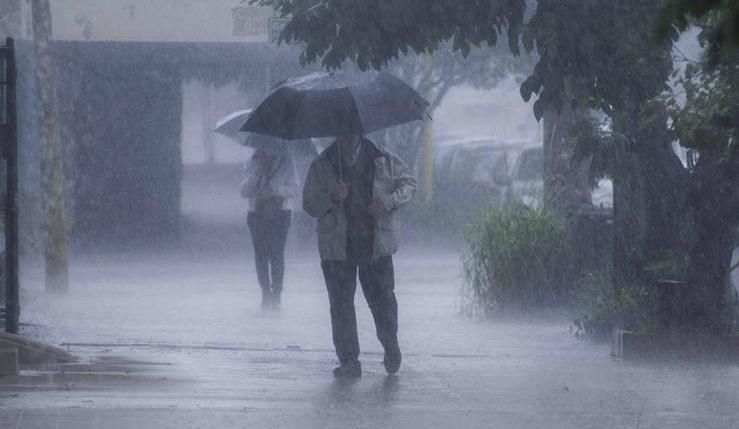 El ingreso de un frente frío provocaría lluvias y tormentas este martes en Misiones