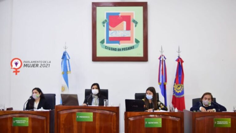 Con 29 proyectos presentados, finalizó el Parlamento de la Mujer 2021 de Posadas