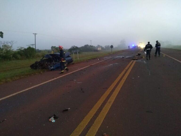 Choque fatal en Campo Viera: automovilista falleció tras colisionar con un camión sobre la ruta 14
