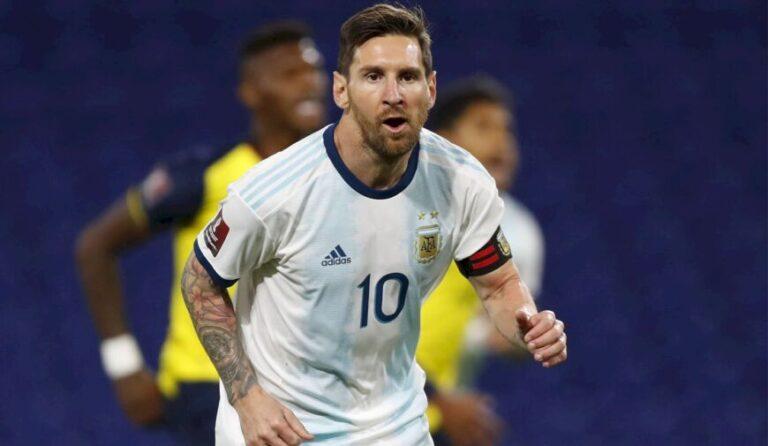 Argentina, con equipo confirmado para jugar este jueves frente a Chile por las Eliminatorias