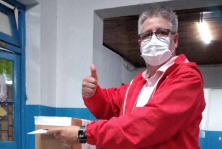 """#EleccionesenMisiones: votó Barrera y dijo que """"la democracia es una alegría para los ciudadanos"""""""