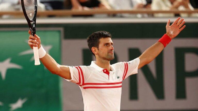 ¡Histórico!: Djokovic barrió a Nadal y avanzó a la final de Roland Garros