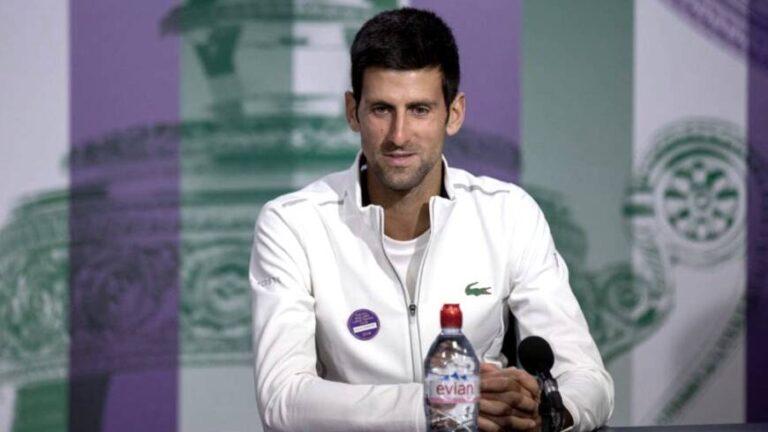 Djokovic y su apoyo a Argentina en la Copa América