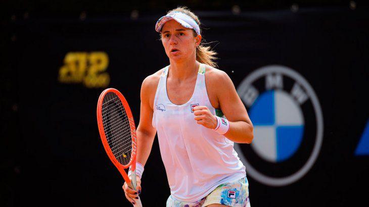 Tenis: Podoroska sube un puesto y mejora su ranking histórico