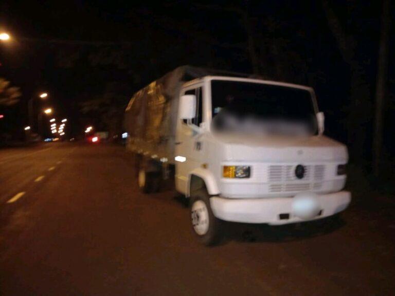 Apóstoles: atraparon a un camionero alcoholizado que atropelló un control policial