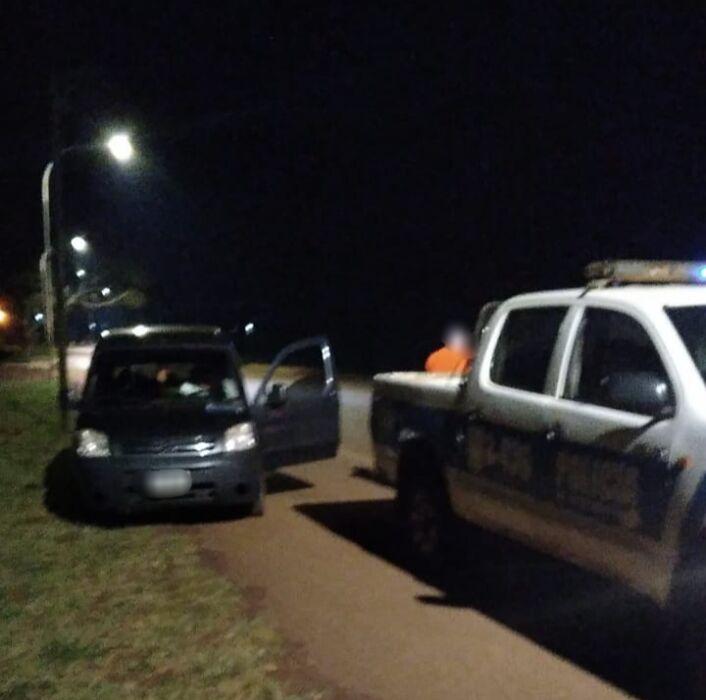 Conductor alcoholizado intentó escapar de un control vehicular y fue detenido en Apóstoles