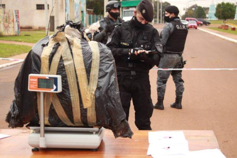 La droga incautada en Candelaria pesó más de 146 kilos