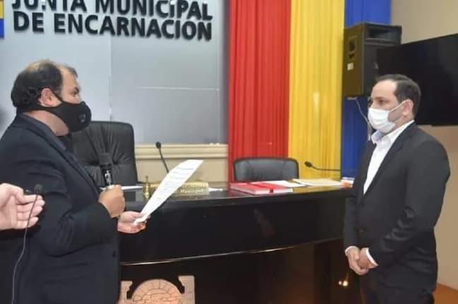 Paraguay: designaron a  Sebastián Remezowski como intendente de Encarnación luego de la renuncia de Yd