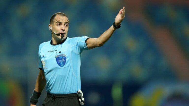 Quién es Esteban Ostojich, el árbitro que dirigirá la final de la Copa América