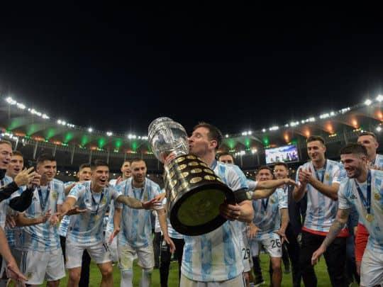 Ante la victoria en el Maracaná, Argentina alcanzó a Brasil como más ganador de Sudamérica