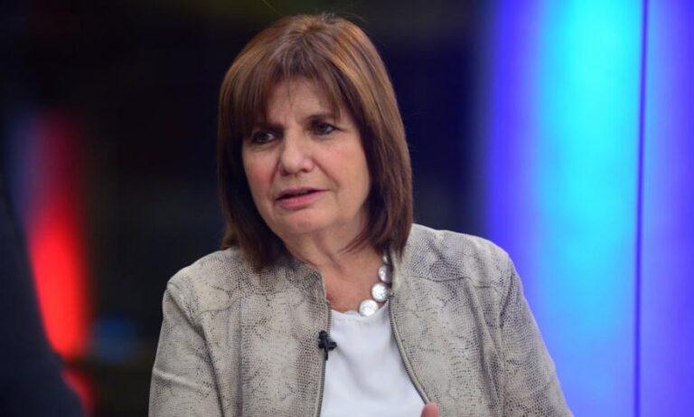 "Patricia Bullrich renunció a ser candidata a diputada: ""Apuesto al 2023″"