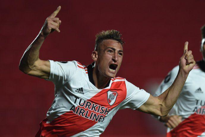 River le ganó 2 a 0 a Argentinos y se metió en cuartos de la Libertadores