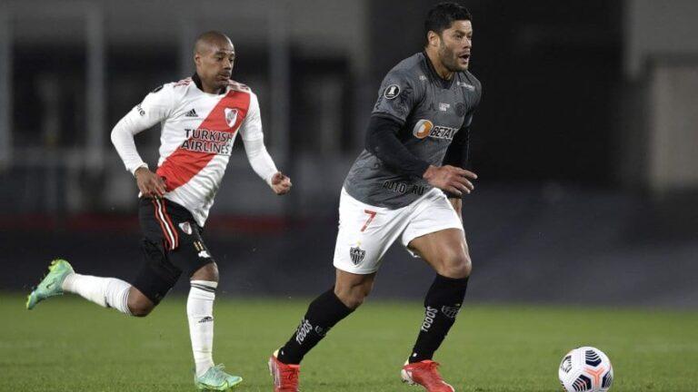 Copa Libertadores: desde las 21:30, River visita al Mineiro en Brasil por el pase a semis