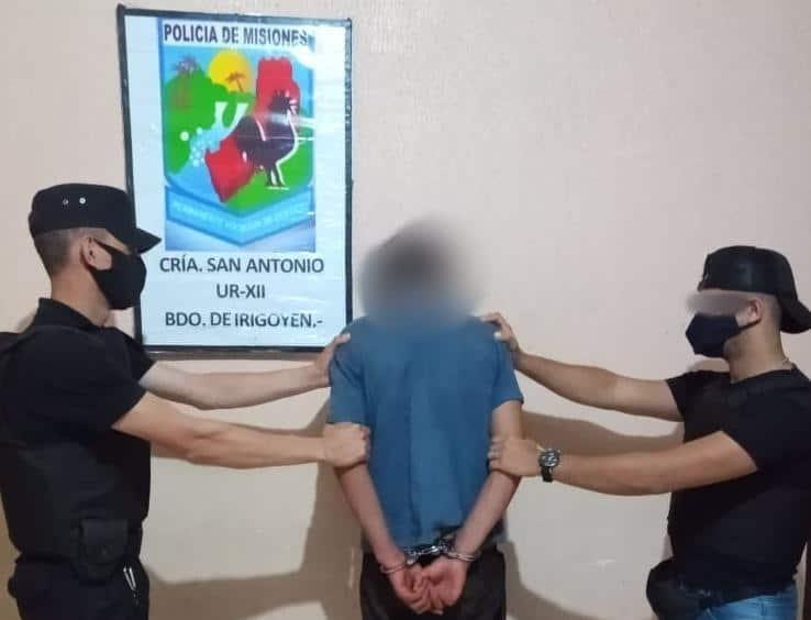 San Antonio: detuvieron a un joven y secuestraron objetos robados de una vivienda