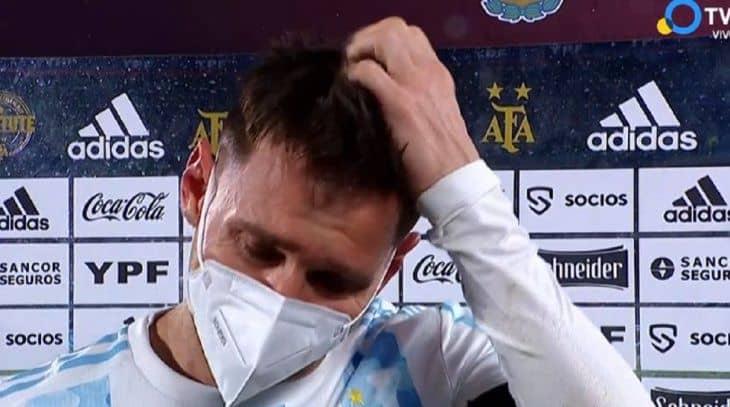 """Messi lloró después del partido ante Bolivia: """"Esperé esto hace mucho tiempo"""""""
